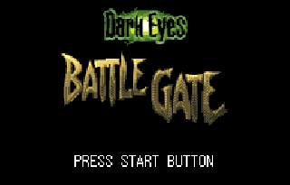 Screenshot Thumbnail / Media File 1 for Dark Eyes - Battle Gate (J) [!]